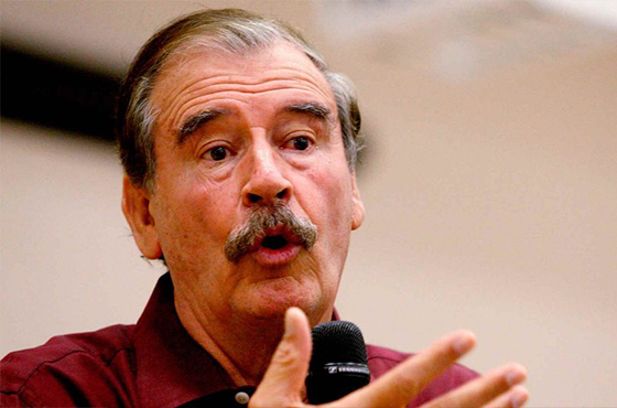 Vicente Fox califica de